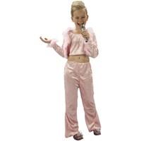 Parti Paketi Pop Star Kostümü Lüks 4-6 Y