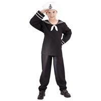 Parti Paketi Denizci Kostümü Süperlüks 7-9 Y