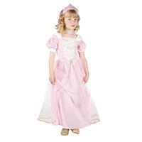 Parti Paketi Sevimli Prenses Kostüm/Taç Lüks 4-6 Y