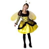 Parti Paketi Kraliçe Arı Kostümü Süperlüks 7-9 Y