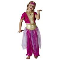 Parti Paketi Arap Prensesi Kostümü Lüks 4-6 Y
