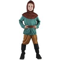 Parti Paketi Robin Hood Orman Savaşçısı Kostümü 7-9 Y