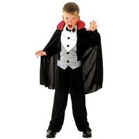 Parti Paketi Vampir Kostümü 4-6 Yaş