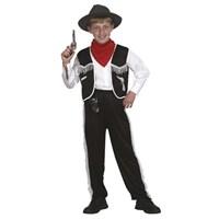 Parti Paketi Kovboy Kostümü Erkek Çocuk 7-9 Yaş