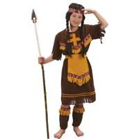 Parti Paketi Kızılderili Kostümü. Kız Çocuk 7-9