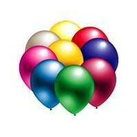 Parti Paketi Karışık Metalik Balon 25'Li Paket
