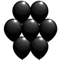 Parti Paketi Siyah Renkli Balon 25'Li