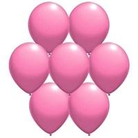Parti Paketi Metalik Pembe Balon (25'Li)