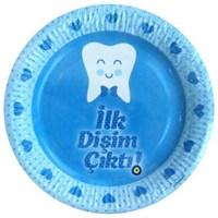 Parti Paketi Diş Buğdayı Partisi Mavi Tabak 10'Lu