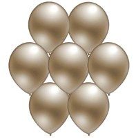 Parti Paketi Gümüş Metalik Balon 25'Li