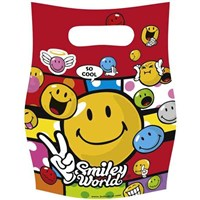 Parti Paketi Smiley Comic Partisi Hediye Poşeti