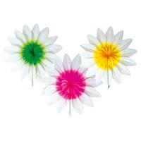 Parti Paketi Çiçek Kağıt Dekor 36Cm