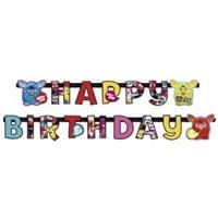 Parti Paketi Furby Happy Birthday Banner