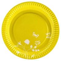 Parti Paketi Sarı Bahçe Tabak