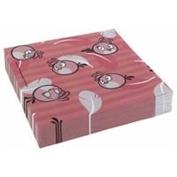 Parti Paketi Angry Birds Pink Büyük Peçete 20'Li