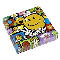 Parti Paketi Smiley Comic Peçete