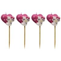 Parti Paketi Charmmy Kitty Mini Mumlar 4'Lü
