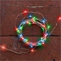 Kikkerland Copper Lights Red/Green/Blue - Bakır Tel Işıklar - Kirmizi/Yeşil/Mavi