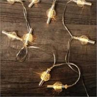 Kikkerland Spiral String Lights Silver - Gümüş Spiral Süs Işıkları