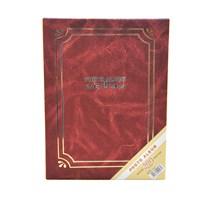 200'Lük Ciltbezli Fotoğraf Albümü 2'Li Set-Kırmızı