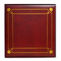 500'Lük Ciltbezli Fotoğraf Albümü-Kırmızı