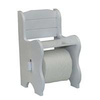 Cosiness Ahşap Tuvalet Kağıtlığı - Beyaz