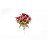 Yedifil Yediveren Yapay Çiçek - Fuşya