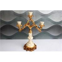 Acar Dekoremanya Dekoratif Süs Eşyası Ayaklı Mumluk Acr-5536