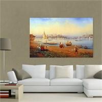 Atlantis Tablo Sahilden Kız Kulesi Manzarası 75X50 Cm