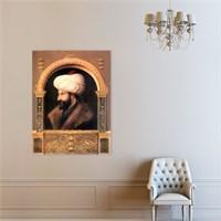 Atlantis Tablo Fatih Sultan Mehmet'in Portresi 50X65 Cm
