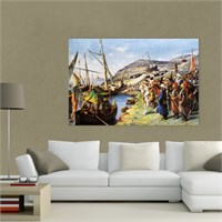 Atlantis Tablo İstanbulun Fethi 75X50 Cm