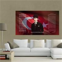 Atlantis Tablo Atatürk Köşesi 90X50 Cm