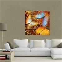Atlantis Tablo Renkli Kelebek 50X50 Cm