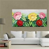 Atlantis Tablo Çiçekler 80X40 Cm