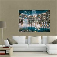 Atlantis Tablo Soyut 70X50 Cm