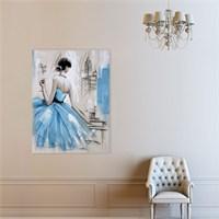 Atlantis Tablo Mavi Elbise 50X65 Cm