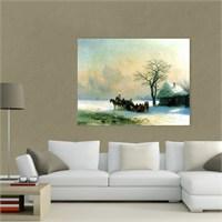 Atlantis Tablo Kış Manzarası, 1868 65X50 Cm