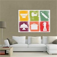 Atlantis Tablo Colours in Kitchen 2 70X50 Cm