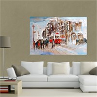 Atlantis Tablo İstanbul Manzarası 75X50 Cm