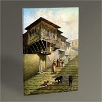 Tablo 360 Leonarda De Mango İstanbul'dan Bir Sokak Tablo 45X30