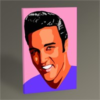 Tablo 360 Elvis Presley Pop Art Tablo 45X30