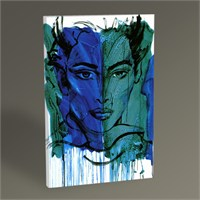 Tablo 360 Turquoise And Blue Tablo 45X30