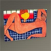 Tablo 360 Henri Matisse Pink Nude Tablo 45X30