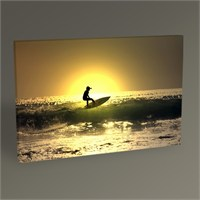 Tablo 360 Surfing On Ocean Waves Tablo 45X30
