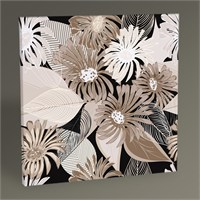 Tablo 360 Abstract Flower Tablo 30X30