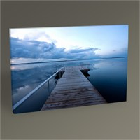 Tablo 360 Calm Sea Evening Tablo 45X30