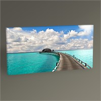 Tablo 360 Tropical Seascape Tablo 60X30