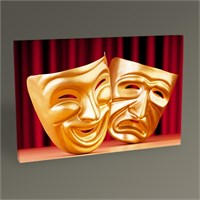 Tablo 360 Theatre Masks Tablo 45X30