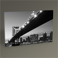 Tablo 360 New York Manhattan Bridge Tablo 45X30