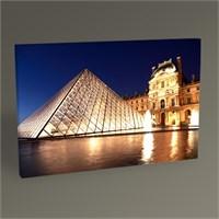 Tablo 360 Paris Louvre Pyramid Iı Tablo 45X30